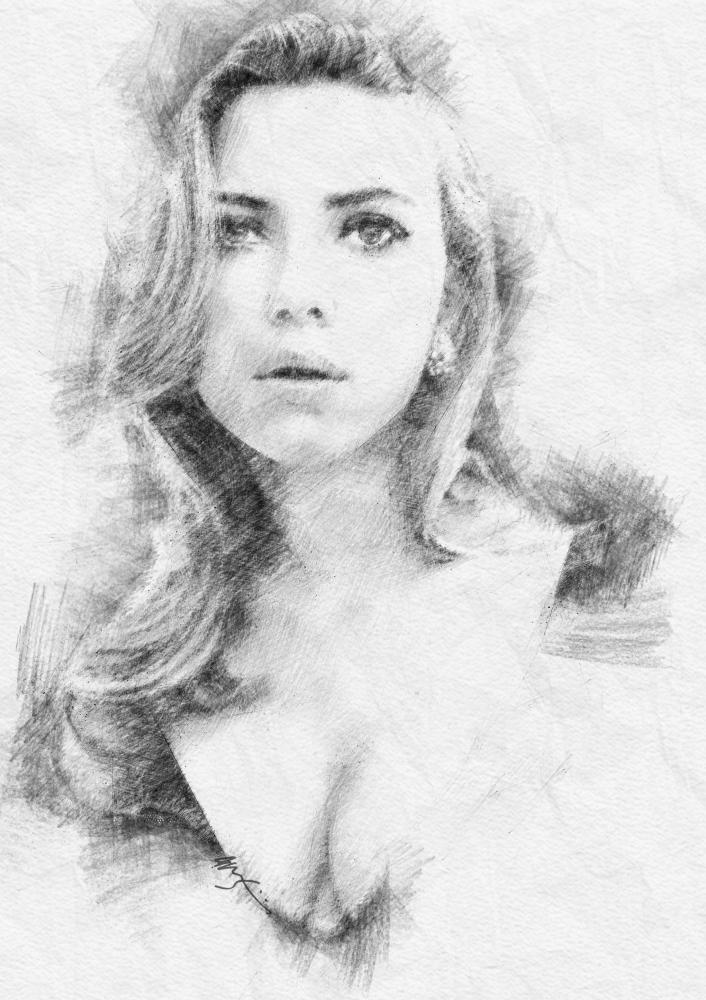 Scarlett Johansson by jonji